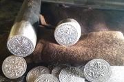 replica conio del denaro di Carlo Magno zecca di Lucca