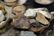 allestimento con repliche archeologiche preistoria