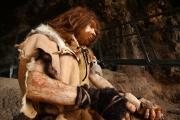 ricostruzione Neandertal Grotta la Cala (SA)