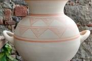 repliche ceramiche etrusche Populonia sec. VIII-VII red-white