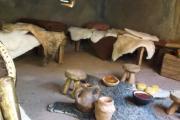 Plastico archeologico capanna Sannita sanniti