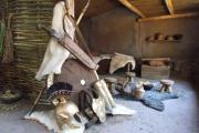 Plastico archeologico capanna sanniti