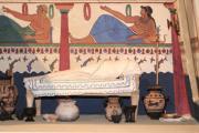 Tomba etrusca modello