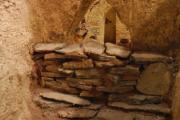 plastico tomba etrusca dromos