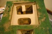plastico tomba etrusca