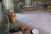 Plastico archeologico capanna Abitazione Sannita